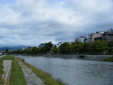 台風の後の鴨川.jpg